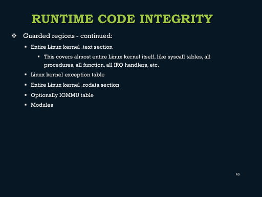 Linux Kernel Runtime Guard (LKRG) under the hood (CONFidence
